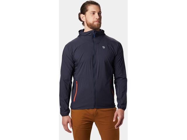 Mountain Hardwear Kor Preshell Veste à capuche Homme, dark zinc